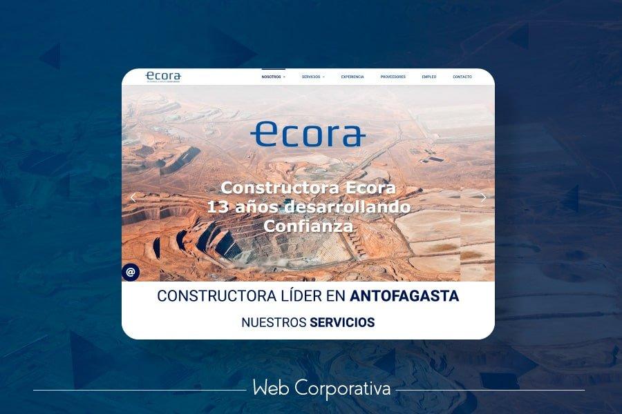 Desarrollo Web Corporativo Constructora