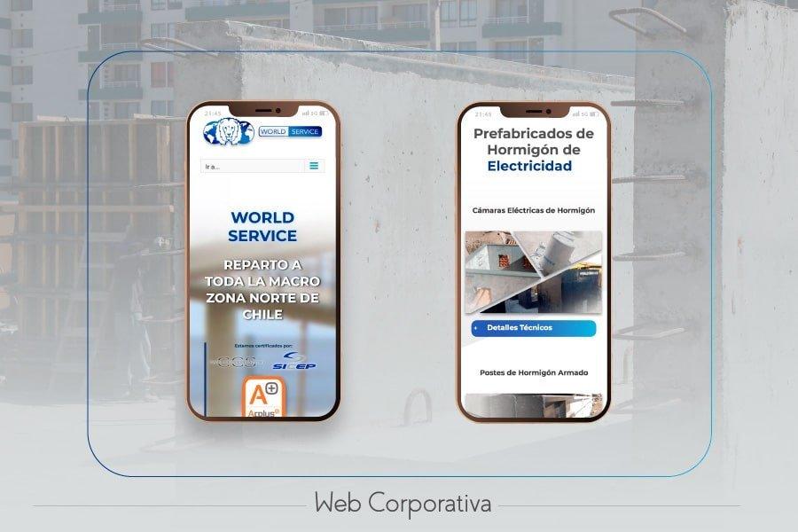 Desarrollo Web a empresas